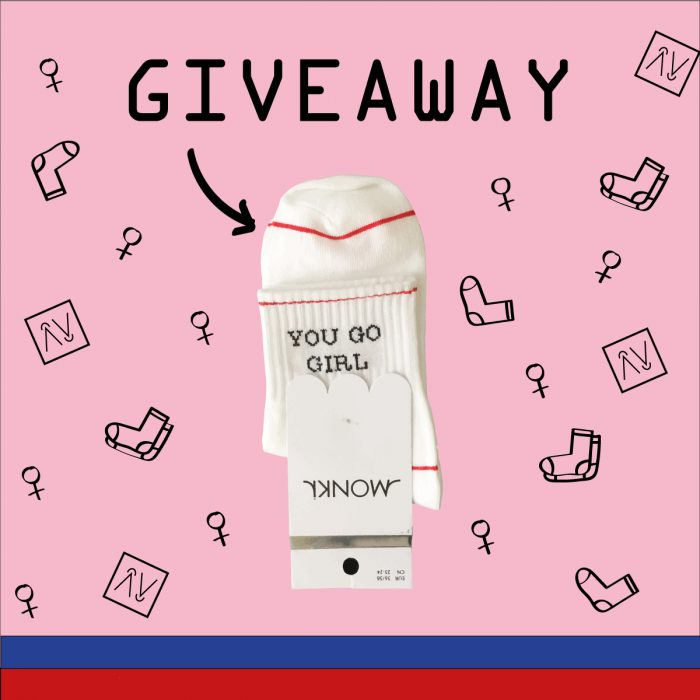 You go girl | Give-away!