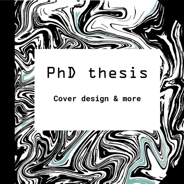 phd thesis cover You must submit two typed copies of the thesis in durable binding with your name clearly marked on the front cover you are advised to carefully check your thesis for typing errors, spelling mistakes and poor grammar or written expression.