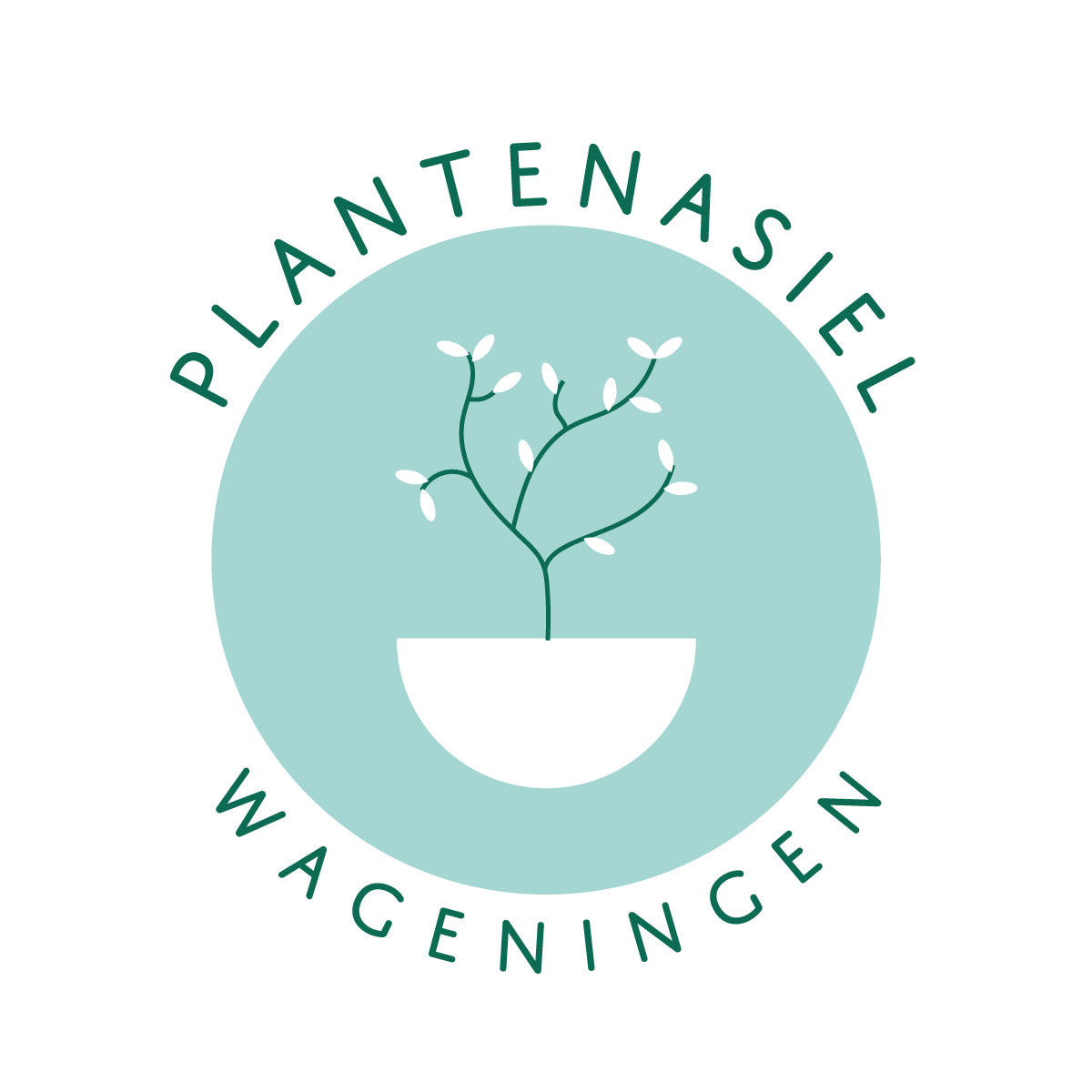 Logo design for Plantenasiel Wageningen